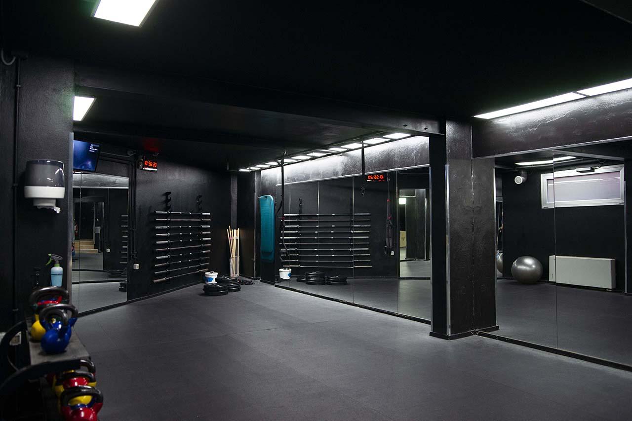 allenamento funzionale sala cinque
