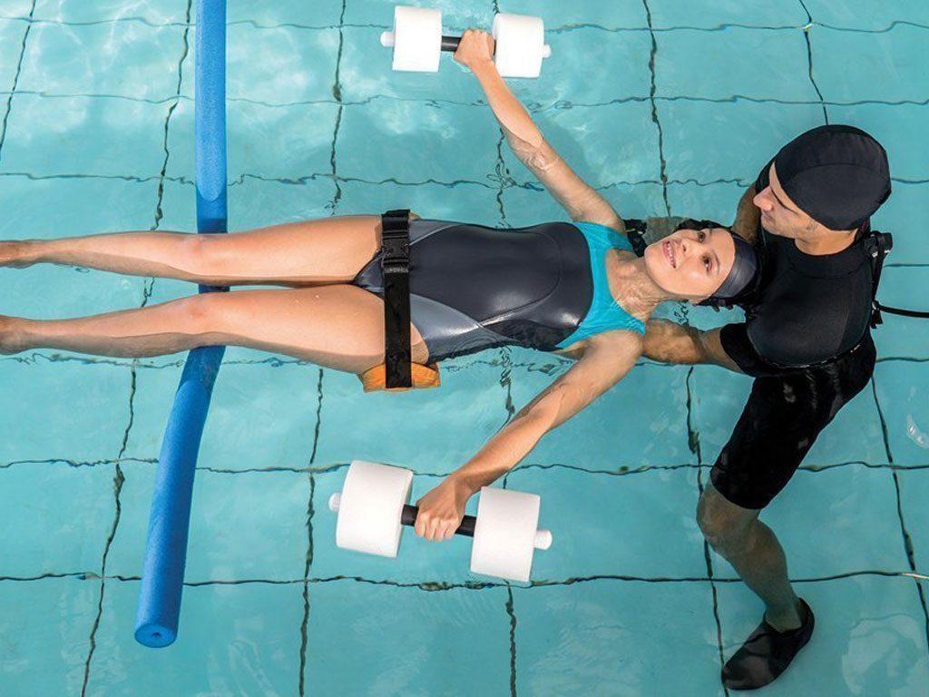 riabilitazione in acqua milano idrokinesiterapia schiena