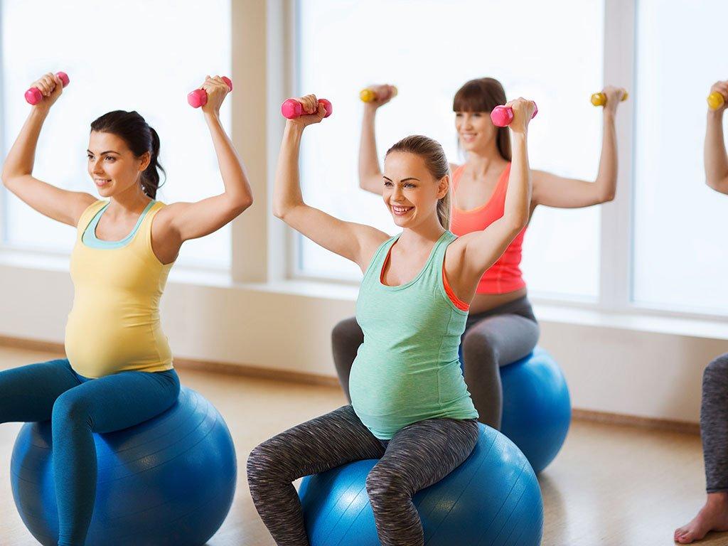 ginnastica in gravidanza in palestra a Milano
